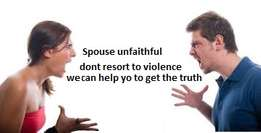 Spouse unfaithful don't resort to violence we help to get the truth