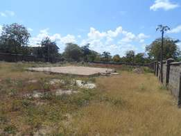 To let half acre prime plot along new Malindi road, North coast Nyali