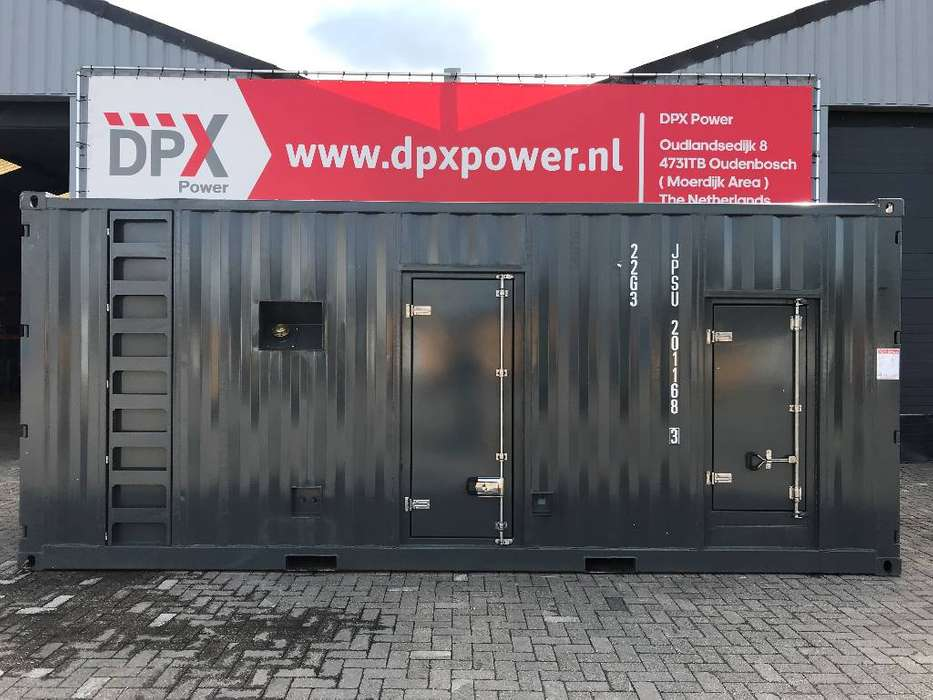 20FT New Silent Genset Container - DPX-11636 - 2015