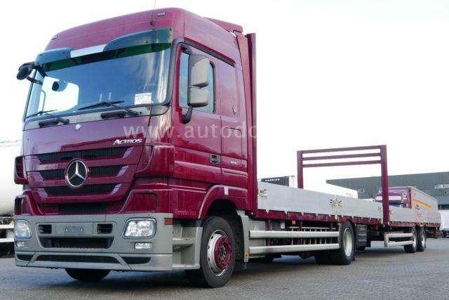Mercedes-Benz Actros 1836 L Mega Pritsche Bordw. Komplettzug - 2009