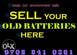 Battery Buyers in Central Business District Abuja