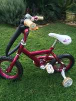 Girls Raleigh 18 cm bicycle