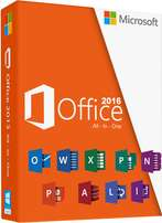 Microsoft Office professional plus 2016 August release.