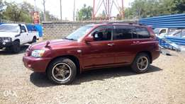 Toyota Kluger well kept