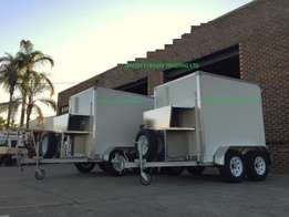 Refrigerated trailers/mobile freezers for sale