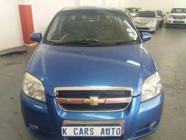 2007 Chevrolet Aveo LT 1.6, with 111000Km