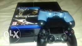 Play Station ps4 Console +1 Game
