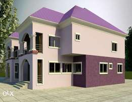 650 sqm 4 bedroom duplex pyakassa Airport road abuja