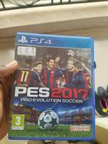 PES 2017 for PlayStation 4