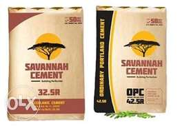 Simba Savannah &Blue Triangle Cement.Transport available