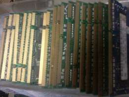 Harddisk and RAM Memory for sale.