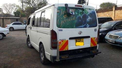 2008 Toyota Hiace KCF Auto Diesel. Tour Converted. Work ready!! Kilimani - image 4