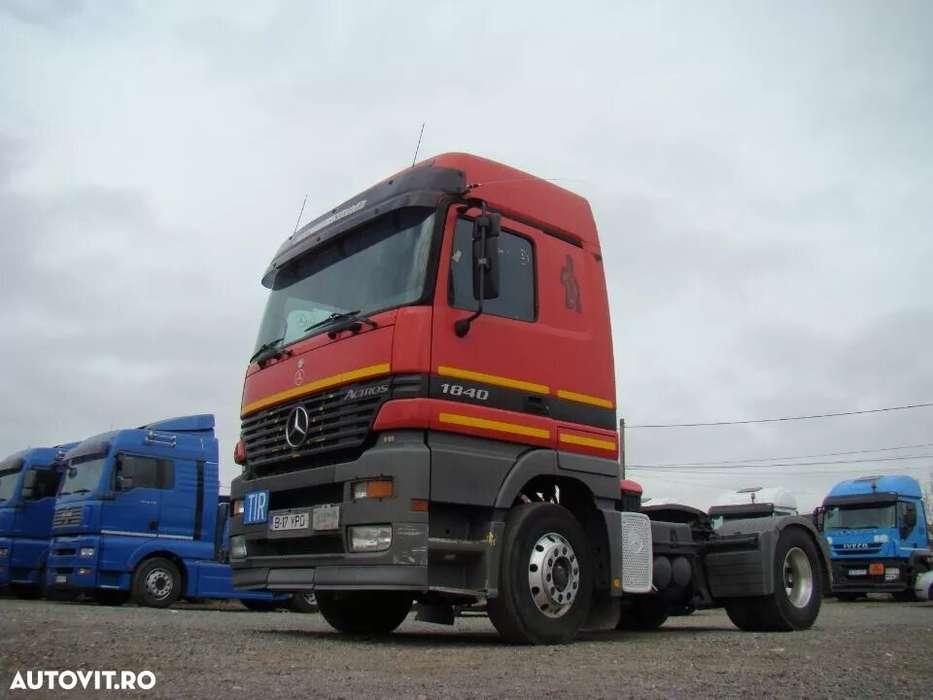 Mercedes-Benz 2x ACTROS 1840 - ADR - Euro 3 - 2001
