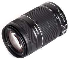 Canon EF-S 55-250mm f/4-5.6 IS II camera zoom lens brand new