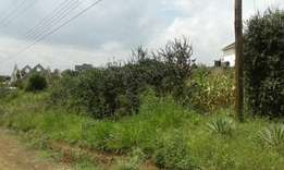 Kahawa Sukari plot at nyahururu rd for 10m first avenue