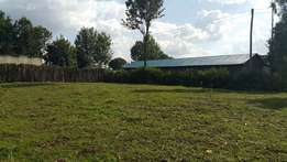 1/4 plot with title near chebisaas obande road 1km from tarmac