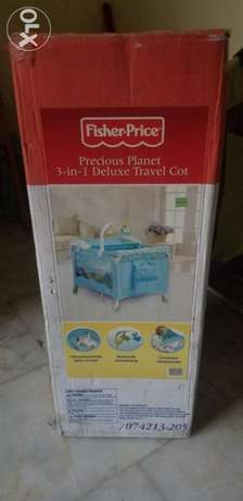 Fisher and price 3in1 travel cot