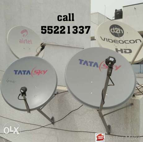 #Sattelite and dish installation, buy and sell