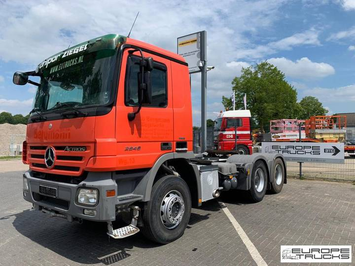 Mercedes-Benz Actros 2646 German truck - EPS 3 pedals - Retarder - 2007