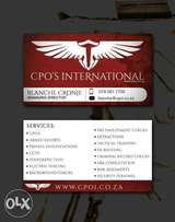 Bodyguards and Superior services investigations and schuttling