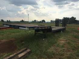 2007 Martin Tri Axle 40 Ton Lowbed Trailer for sale