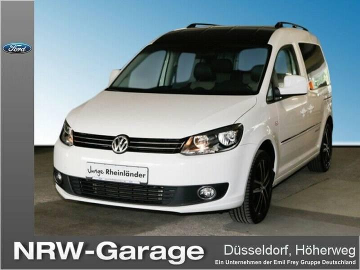 Volkswagen Caddy 1.6 TDIBMT Edition, AHK, Tempomat, Aux, - 2014