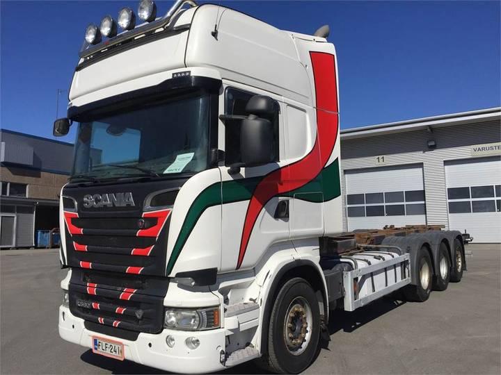 Scania R560 Tridem Alusta - 2013