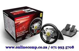 On Sale - Ferrari Challenge Racing Wheel PC PS3