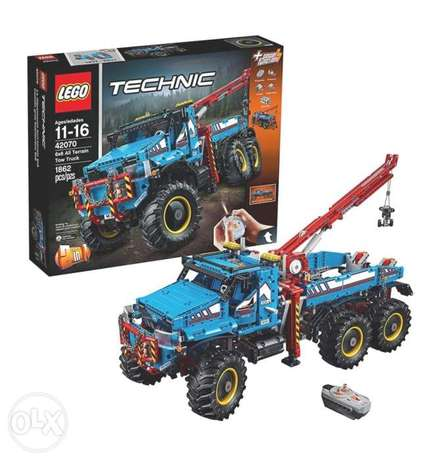 LEGO Technic 6X6 All Terrain Tow Truck 42070 Building Kit One Size Mul