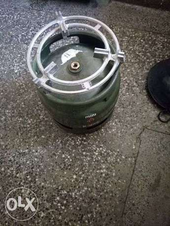 6kg complete k-gas cylinder with 1/2 gas Kahawa sukari - image 1