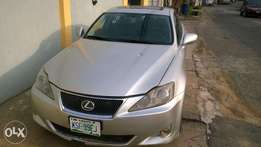 Silver Lexus 2006 Nigeria used for sale