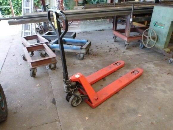 Sale pallet truck hand pallet truck for  by auction
