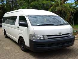 Toyota hiace 9l manual long chassis wide 18 pass matatu finance terms