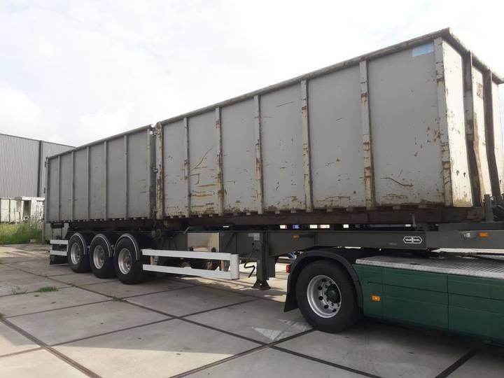 Van Hool spezial kabelsystem 24 ton kipper 2x6m container - 2009