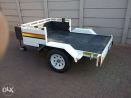 Flatbed Motorcycle and or Quad Trailer