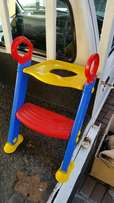 Toddlers toilet ladder