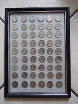 54 times 100 Year Anniversary of the Union Buildings R2 coins