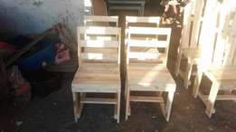2 sets of 4 chairs for sale