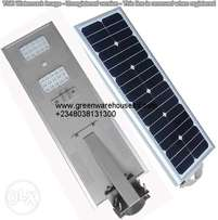 A well functioned All in one solar street light. 12 to 60watt.