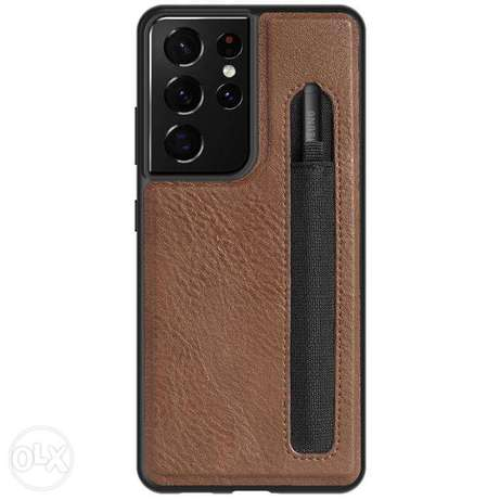 Nillkin Aoge Leather CC with Pen Holder for Samsung S21 Ultra