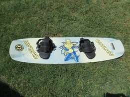 Wakeboard - superb condition fun for water sports