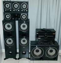 Sony hometheater with double amps for sale