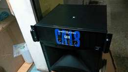 CA20,18,and Base speakers 18inches,P.Amanagement,