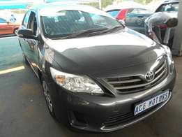 2012 Toyota Corolla 1.3 Professional For R130000
