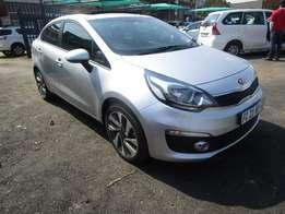 Finance available for Kia Rio,silver in color,21 000km,5 doors,R165000