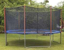 Trampolines for hire for sale