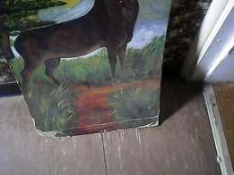 painting of an antelope nr 2