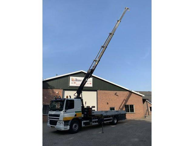 DAF CF 75 310 Manual Hiab 144Hi Duo crane Remote AHK - 2006