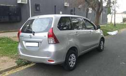 2014 Toyota Avanza for sale R 28 500