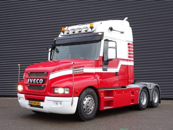 Iveco STRATOR 560 EURO 5 / 6X4 / 305 DKM! / TORPEDO - 2009